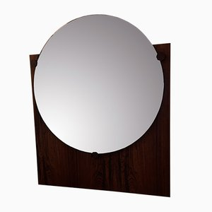 Italian Rosewood Mirror, 1960s