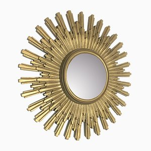 Golden Sunburst Mirror, 1960s