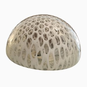 Mid-Century Murano Glass Ceiling Lamp by Paolo Venini for Vetri Murano