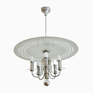 Art Deco Austrian Chandelier, 1930s