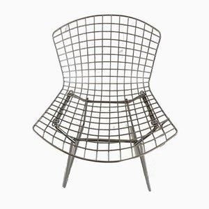 Chaises de Salon en Chrome par Harry Bertoia pour Knoll Inc. / Knoll International, 1980s, Set de 4