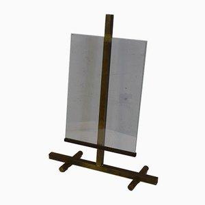Bilderrahmen aus Messing & Glas von Fontana Arte, 1950er