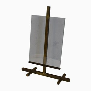 Brass and Glass Photo Frame from Fontana Arte, 1950s