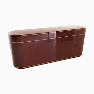 2-Sided Sideboard im Stil von Willy Rizzo für Mario Sabot, 1970er