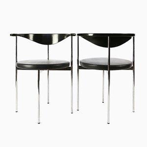 Chaises de Salon par Sieck Frederik pour Fritz Hansen, Danemark, 1960s, Set de 6