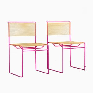 Spaghetti Dining Chairs by Giandomenico Belotti for Fly Line, 1970s, Set of 6