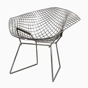 Chromed Diamond Chair by Harry Bertoia for Knoll Inc. / Knoll International, 1970s