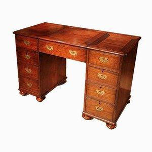 Small Antique Campaign Desk