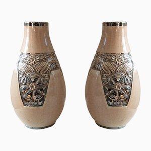Vases Art Déco, 1930s, Set de 2