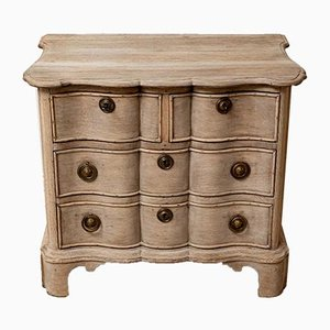 18th Century Dutch Oak Commode with 4 Drawers