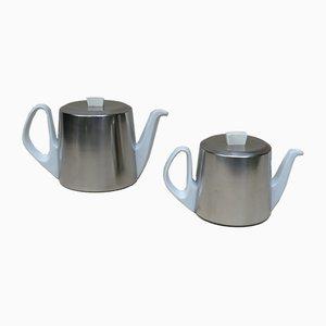 Teekannen von WMF, 1960er, 2er Set
