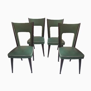Dining Chairs by Pierluigi Colli, 1960s, Set of 4