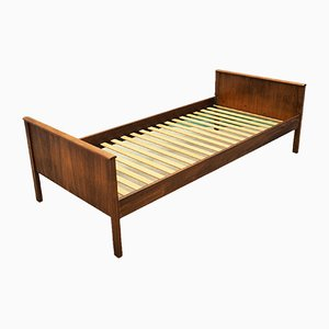 Mid-Century Danish Teak Bed Frame, 1960s
