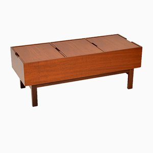 Vintage Teak Coffee Table or Storage Box, 1960s