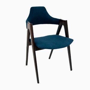 Modell Compass Esszimmerstühle aus Palisander von Kai Kristiansen, 1960er, 4er Set