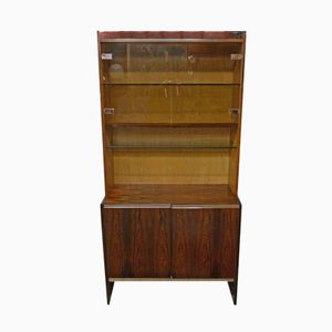 Rosewood and Chrome Wall Unit from Merrow Associates, 1970s
