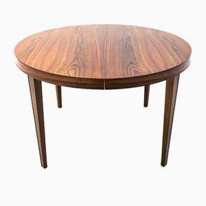 Rosewood Folding Dining Table, 1960s