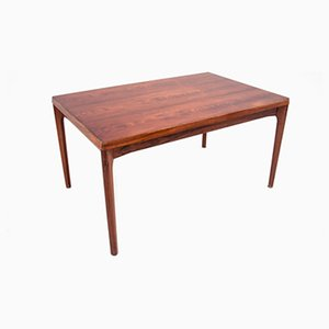 Danish Rosewood Folding Dining Table, 1960s