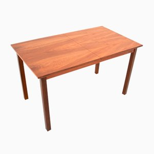 Mid-Century Walnut Dining Table, 1970s