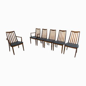 Teak Fresco Dining Chairs from G-Plan, 1960s, Set of 6