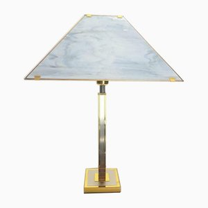 Vintage Hollywood Regency Brass Gold Table Lamp by Willy Rizzo