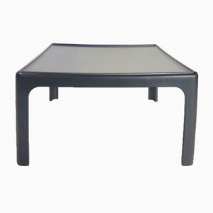 Vintage Black Coffee Table by Peter Ghyczy for Horn Collection
