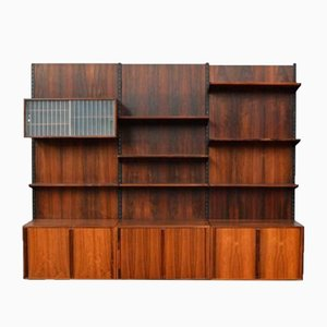 Vintage Danish Modular Wall Unit by Kai Kristiansen, 1960s