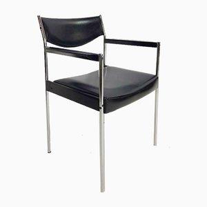 Vintage Thereca Armlehnstühle aus Holz, 1960er, 4er Set