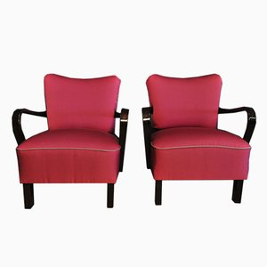 Pink Cocktail Armchairs, Set of 2