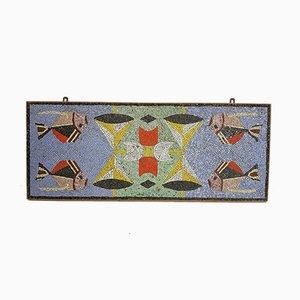 Bunte Art Deco Mosaikplatte, 1930er