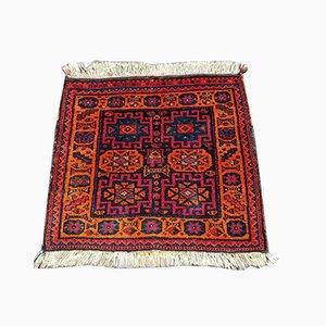 Vintage Knotted Oriental Carpet