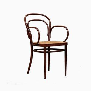 Wiener Modell 214 F Chair von Thonet, 1970er