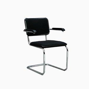 S64 P Stuhl aus Stoff von Marcel Breuer für Thonet, 1990er