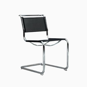 Black S 33 N Cantilever Chair from Thonet
