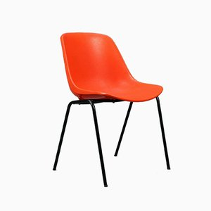 Orange Stacking Chair by Eero Aarnio for Asko, 1960s