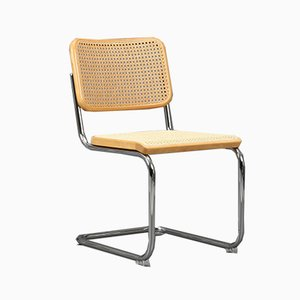 Beech S 32 Cantilever Chair from Thonet, 1980s