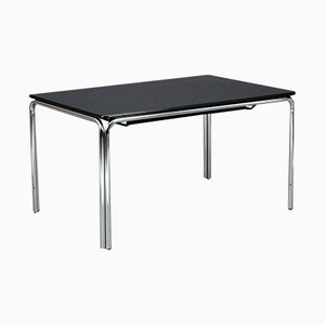 Black Chrome-Plated Steel Extendable M34 Table from Tecta, 1980s