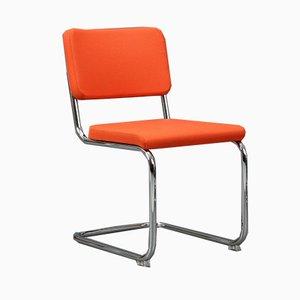 Moderner Orangenfarbener S 32 PV Stuhl von Thonet, 2000er