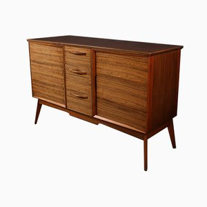 Walnut Veneer Sideboard by Alfred Cox, 1960s