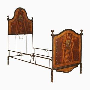 19th Century Italian Iron Bed