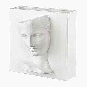 Weiße Keramik Psyche Capua Vase von Marco Segantin für VGnewtrend