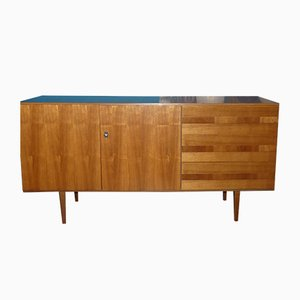 Mid-Century Two-Tone Walnut Sideboard, 1960s