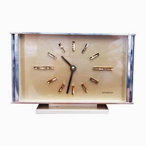 Mid-Century Table Clock from Dugena, 1960s