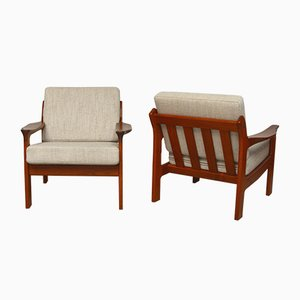 Danish Lounge Chairs from A/S Mikael Laursen, 1960s, Set of 2