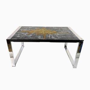 Table Basse en Céramique par Jean D'Asti, France, 1960s
