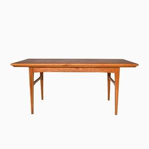 Mid-Century Swedish Teak Adjustable Coffee Table, 1960s