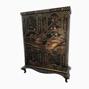 Vintage Oriental Style Cabinet, 1930s