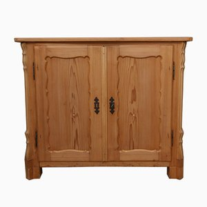 Small Louis Philippe Softwood Cabinet