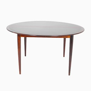 Rosewood Dining Table by Grethe Jalk for P. Jeppesen, 1960s