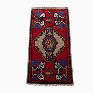Small Vintage Turkish Rug, 1970s